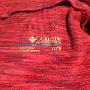 Columbia Tops - Columbia Half Zip stretch pull over